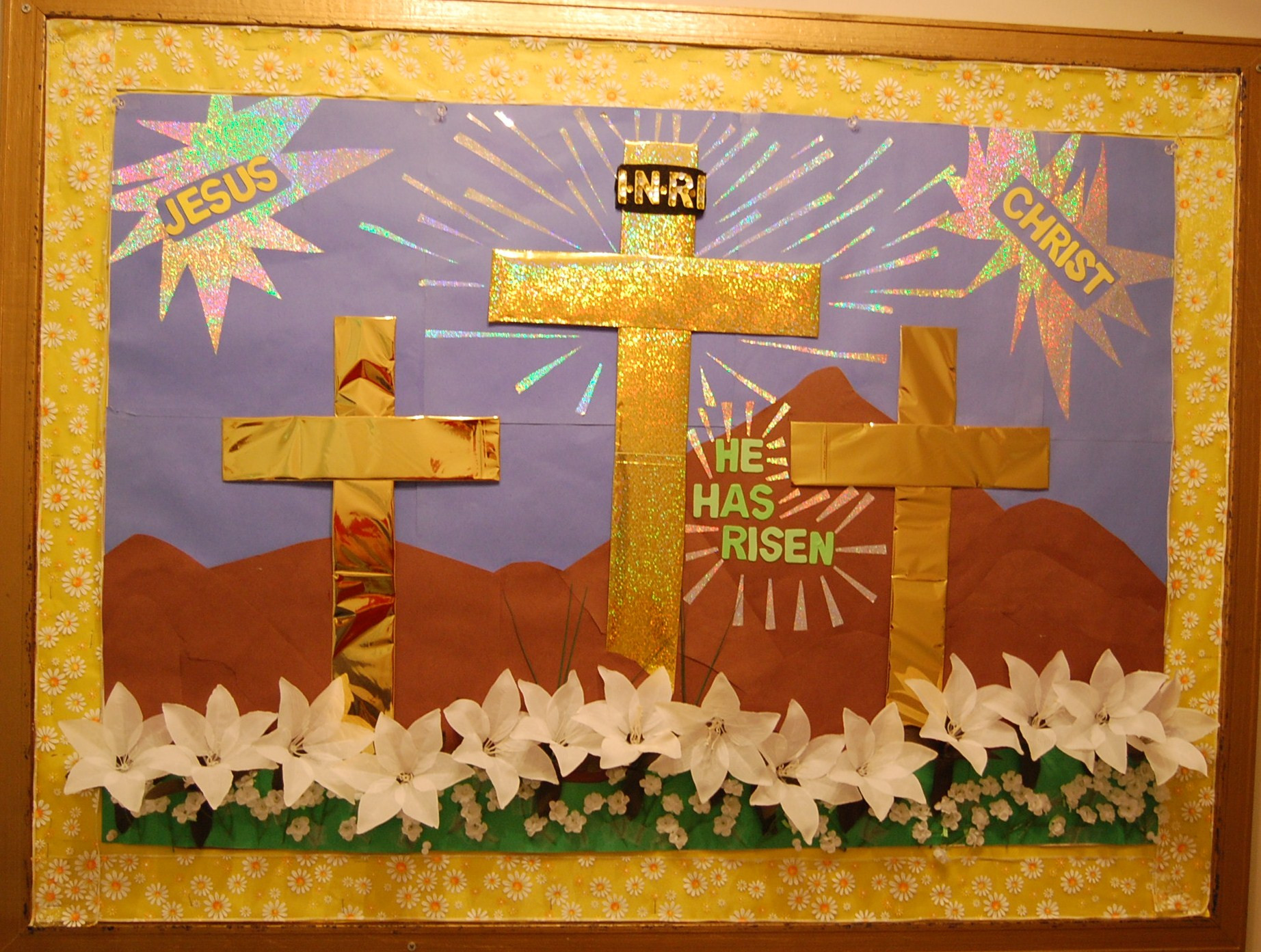 Christian School Easter Party Ideas  1000 images about Spring Easter Bulletin Boards on Pinterest