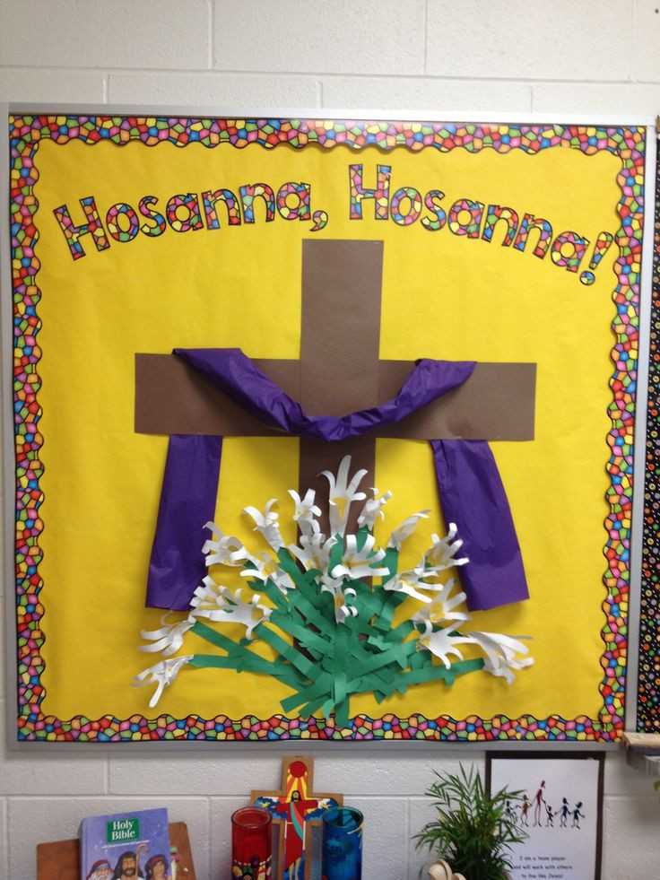 Christian School Easter Party Ideas  Easter religious Bulletin Boards Pinterest