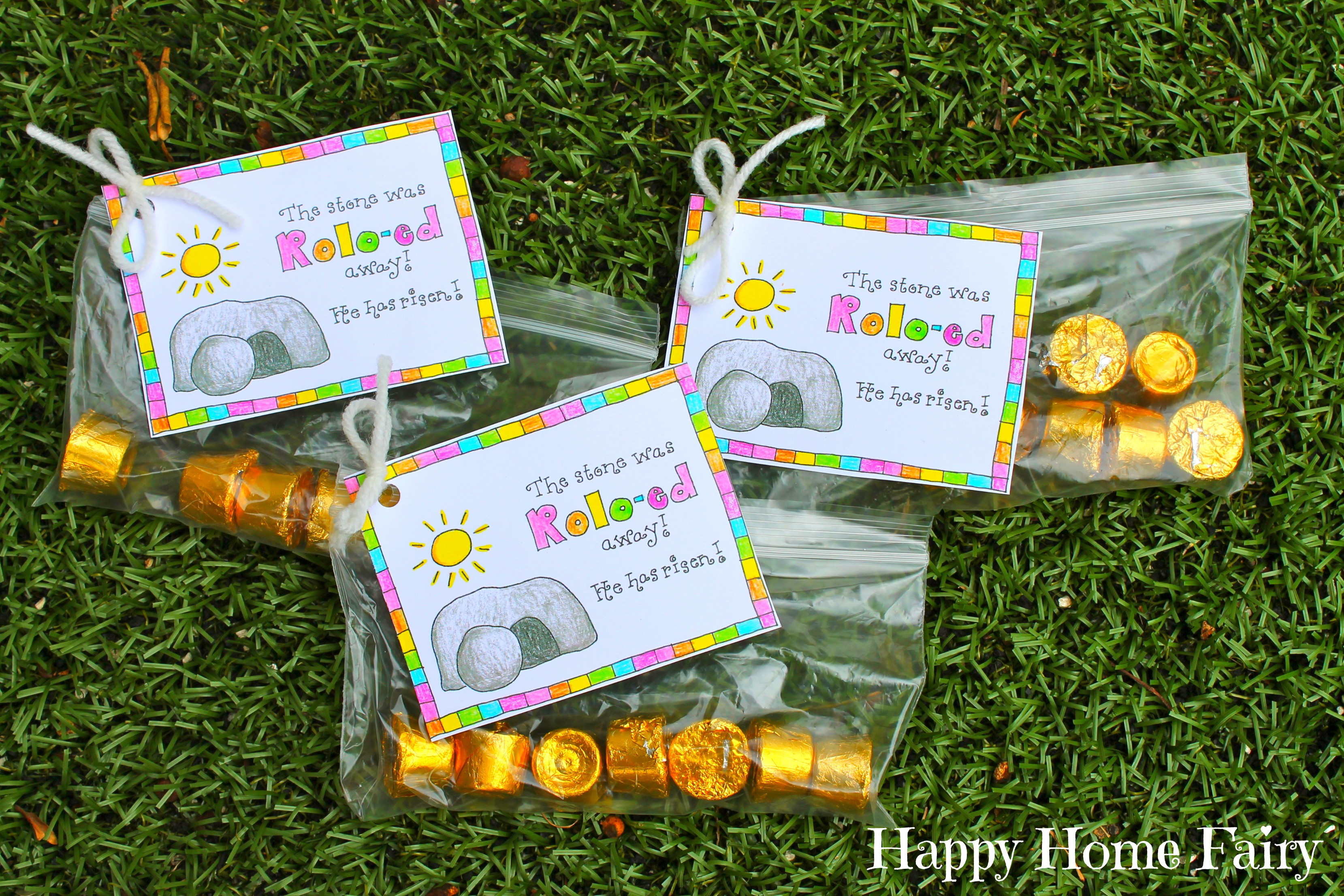 Christian School Easter Party Ideas  FREE Printable Easter Treat Tag Happy Home Fairy