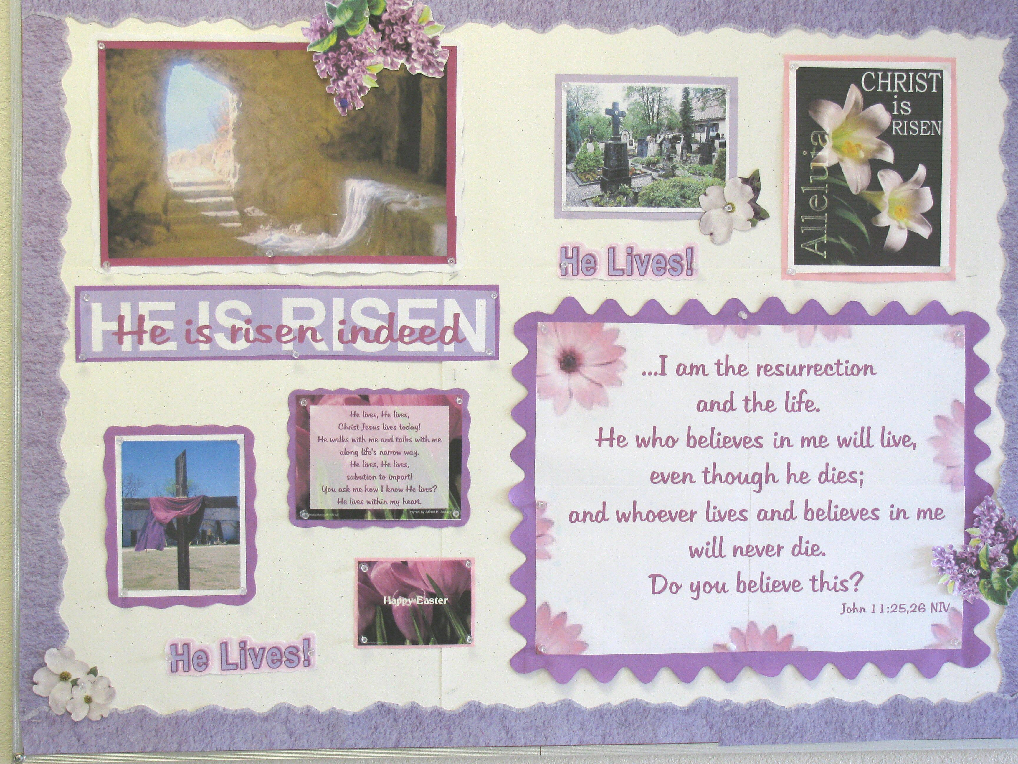 Christian School Easter Party Ideas  Pin by Audrey Smith on Bulletin Boards