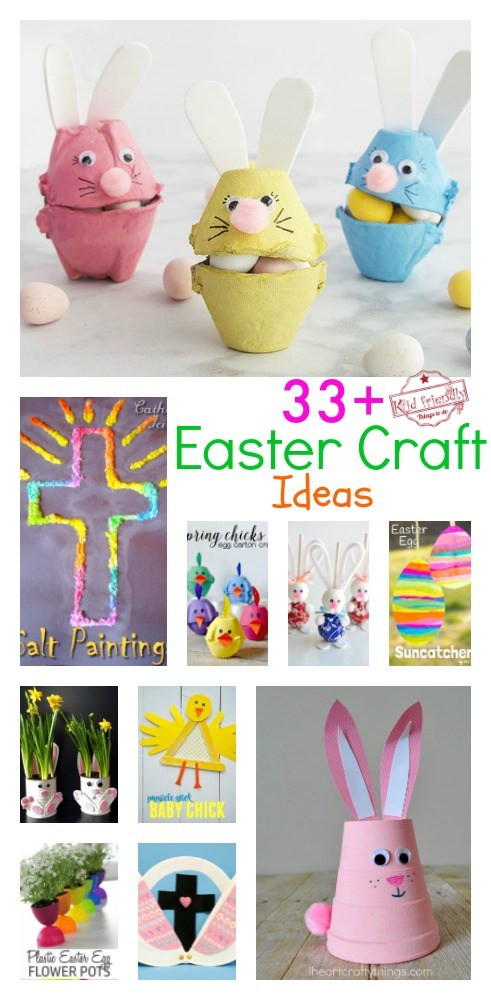 Christian School Easter Party Ideas  Over 33 Easter Craft Ideas for Kids to Make Simple Cute