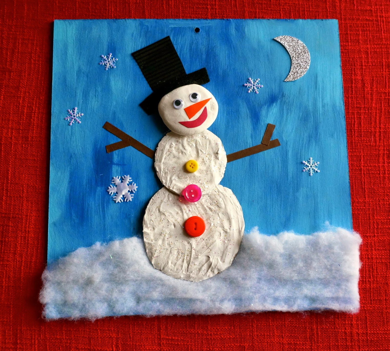 Christmas Arts Ideas  that artist woman Winter Projects