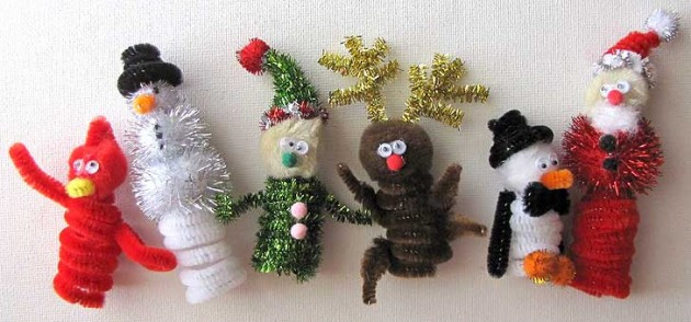 Christmas Arts Ideas  40 Quick and Cheap Christmas Craft Ideas for Kids