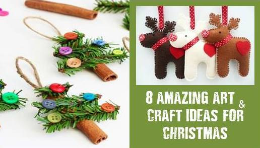 Christmas Arts Ideas  8 Awesome Christmas art and craft ideas for kids