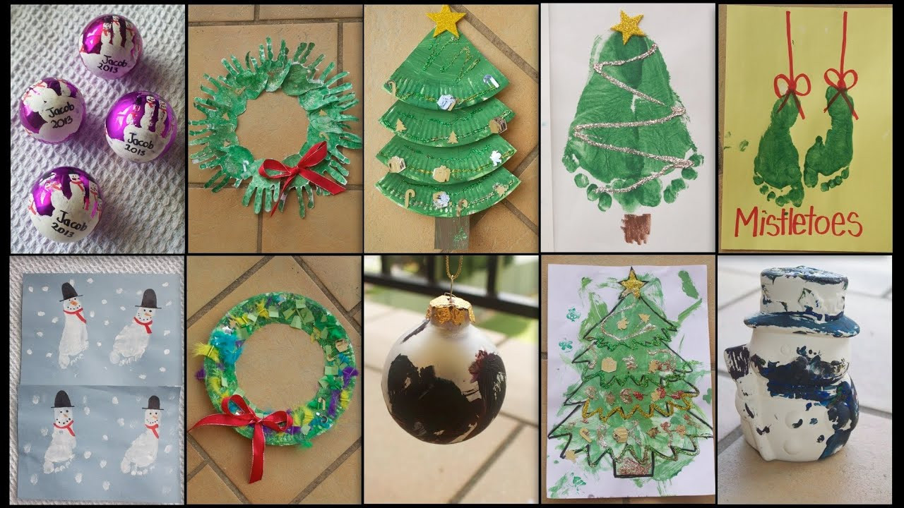 Christmas Arts Ideas  10 CHRISTMAS CRAFTS FOR TODDLERS & KIDS
