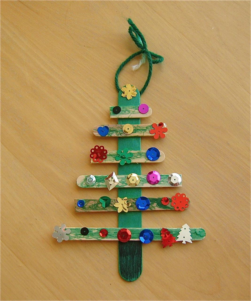 Christmas Craft Ideas For Preschoolers  Christmas Tree Craft