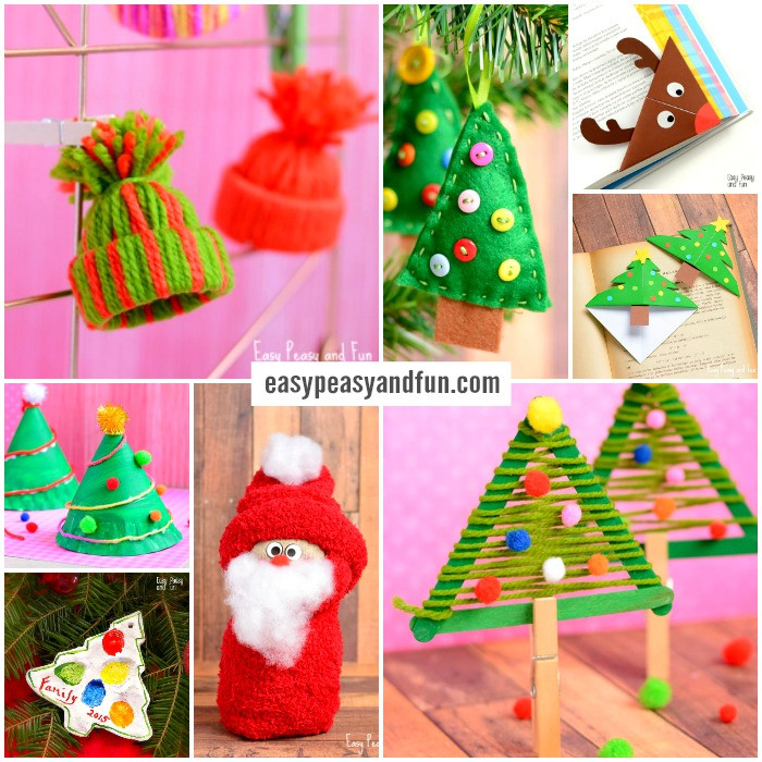 Christmas Craft Ideas For Preschoolers  Festive Christmas Crafts for Kids Tons of Art and