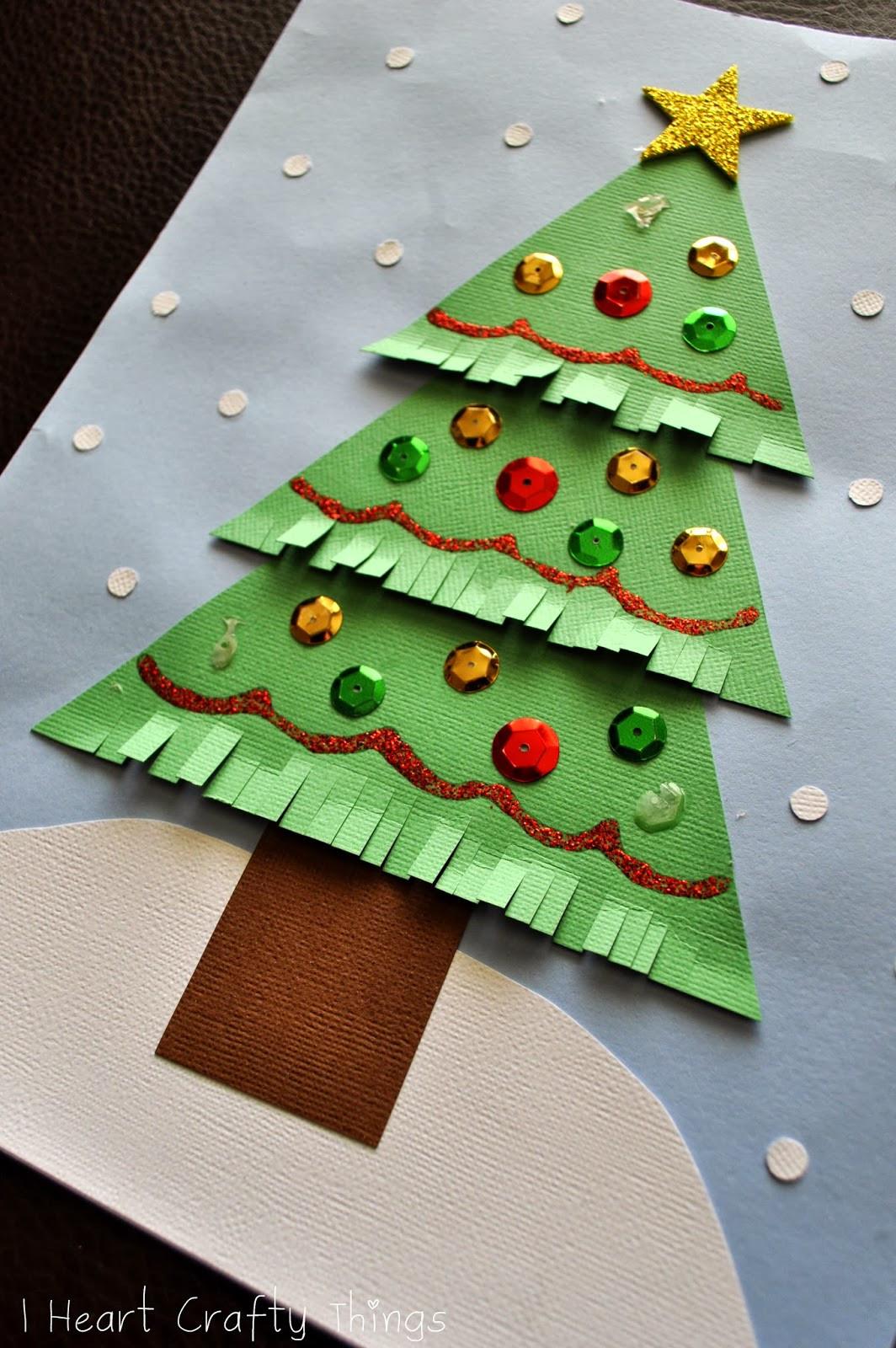 Christmas Craft Ideas For Preschoolers  Kids Christmas Tree Craft