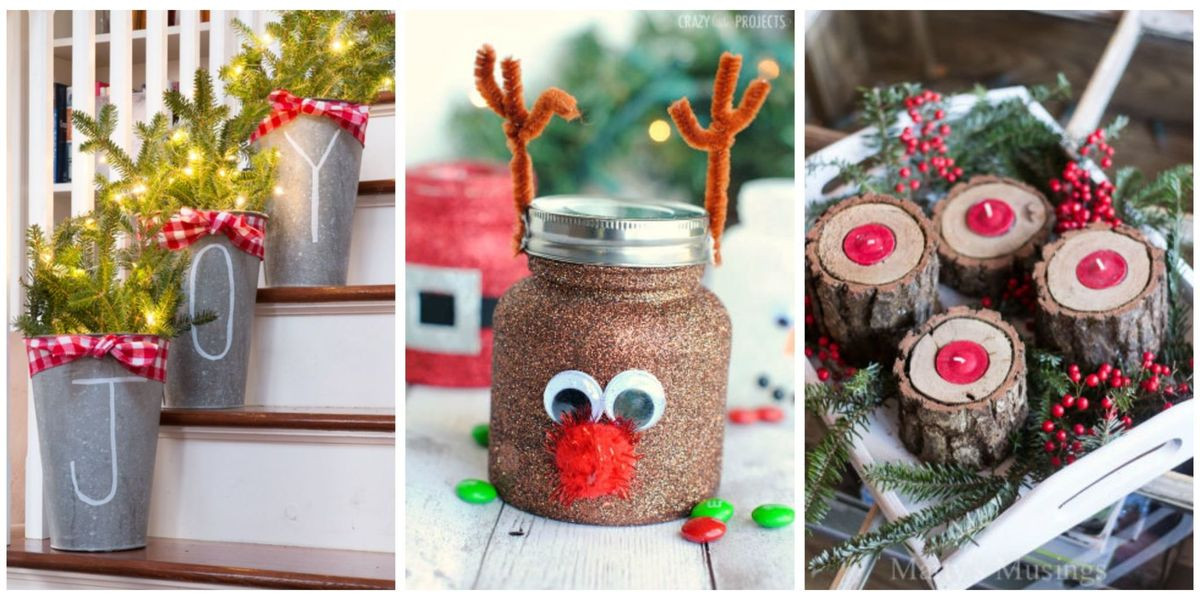 Christmas Crafts For Adults  55 Easy Christmas Crafts Simple DIY Holiday Craft Ideas