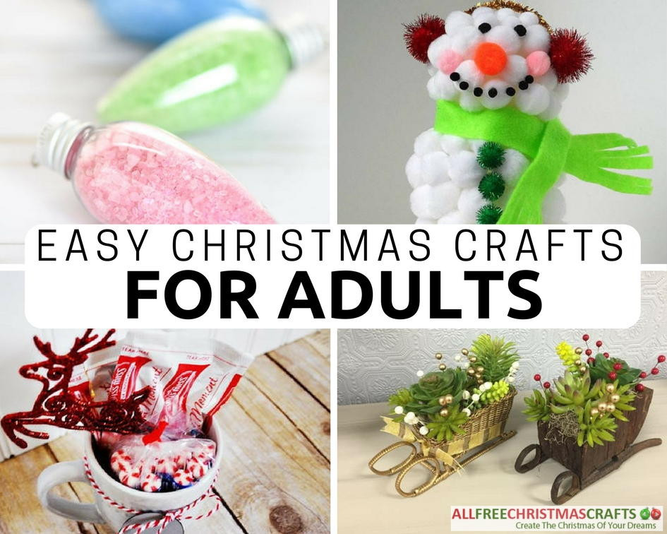 Christmas Crafts For Adults  36 Really Easy Christmas Crafts for Adults