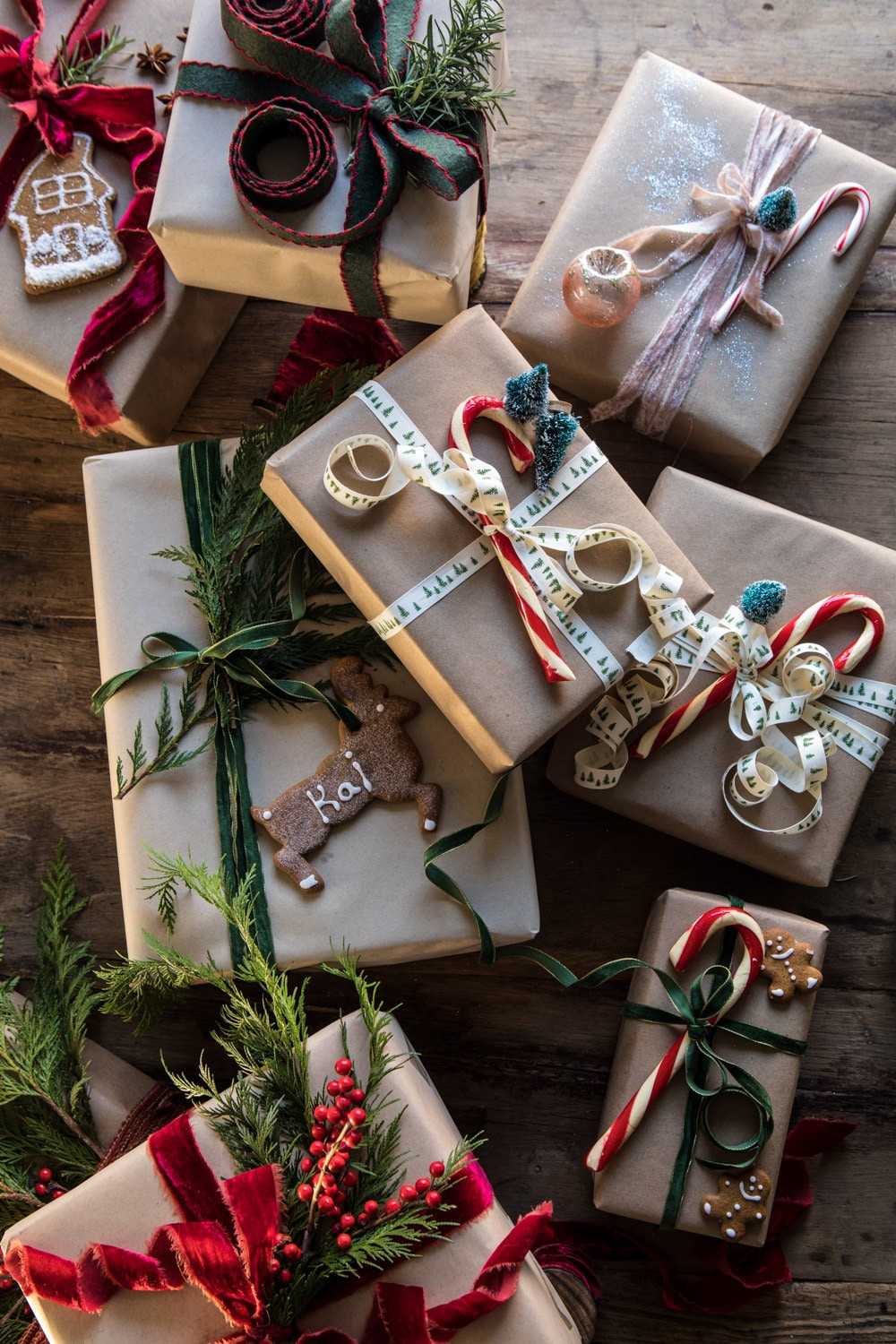Christmas Gift Wrap Ideas  Christmas Gift Wrapping Ideas Half Baked Harvest