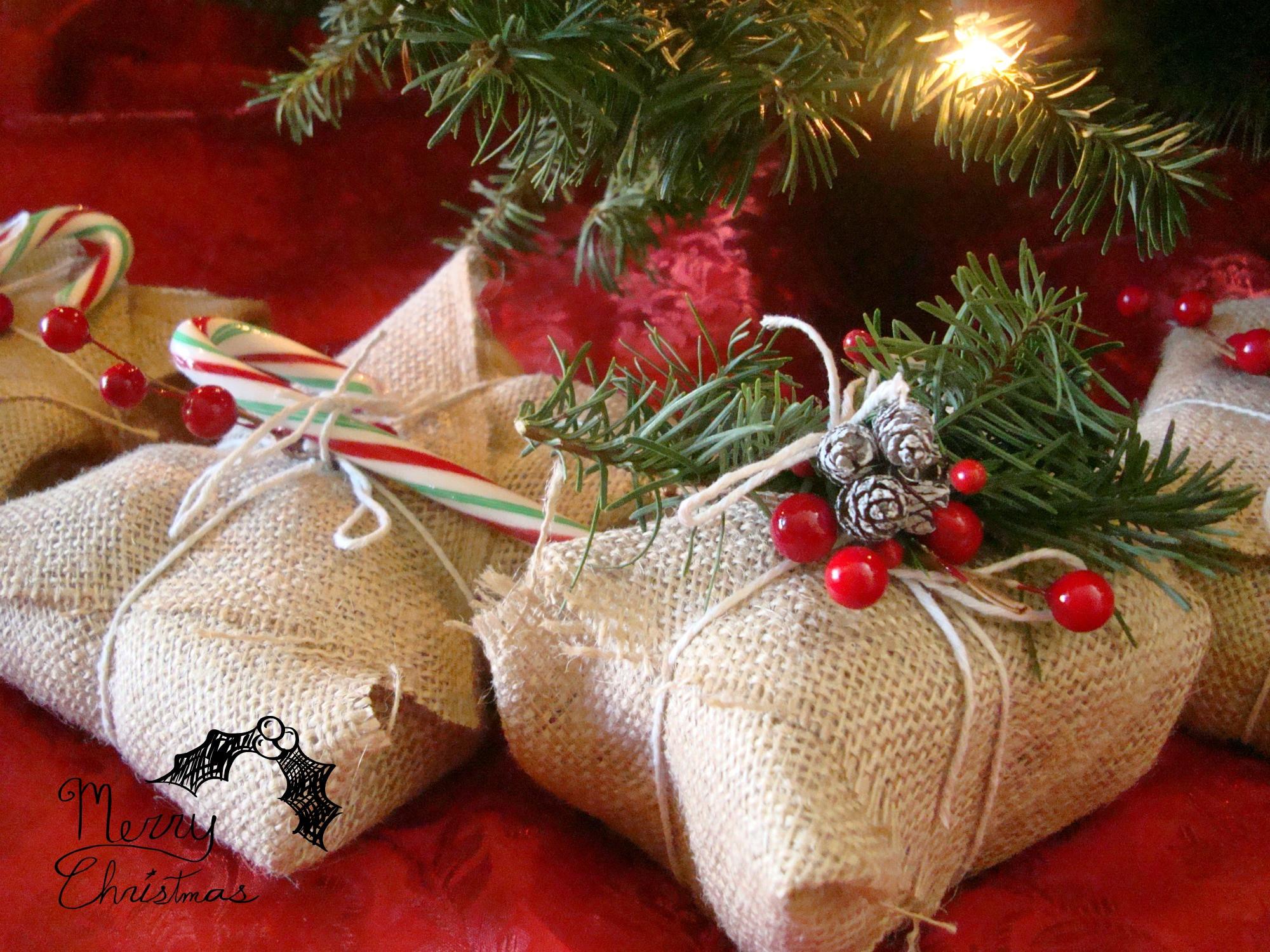 Christmas Gift Wrap Ideas  Ash Tree Cottage Cute and Cheap Christmas Wrap Ideas