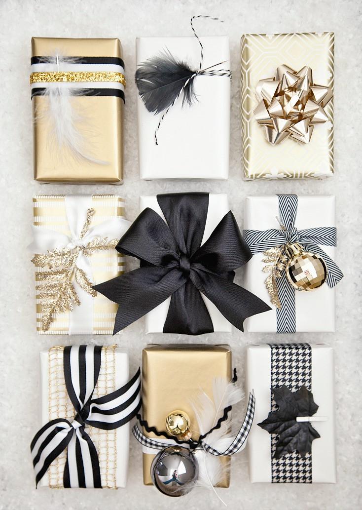 Christmas Gift Wrap Ideas  Creative Gift Wrap Ideas and Christmas Printables