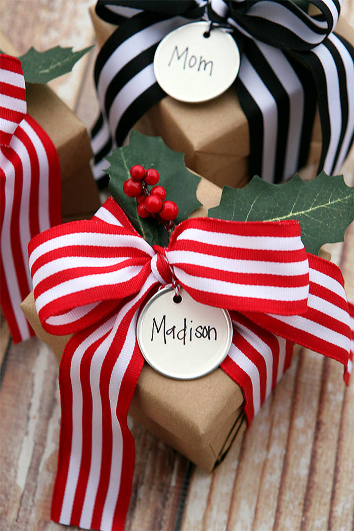 Christmas Gift Wrap Ideas  45 Christmas Gift Wrapping Ideas for Your Inspiration