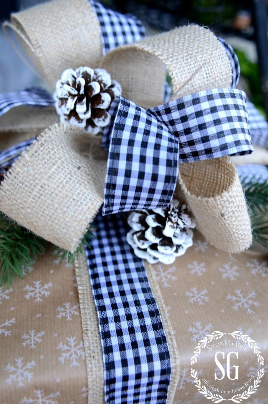Christmas Gift Wrap Ideas  CHRISTMAS GIFT WRAPPING IDEAS StoneGable