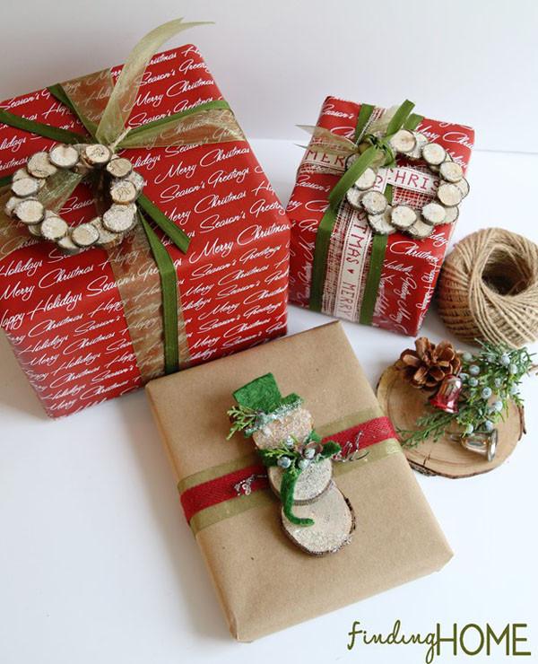 Christmas Gift Wrap Ideas  Creative Christmas Gift Wrapping Ideas All About Christmas