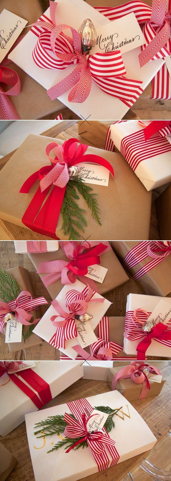 Christmas Gift Wrap Ideas  Gift Wrapping Ideas & Printable Gift Tags The Idea Room
