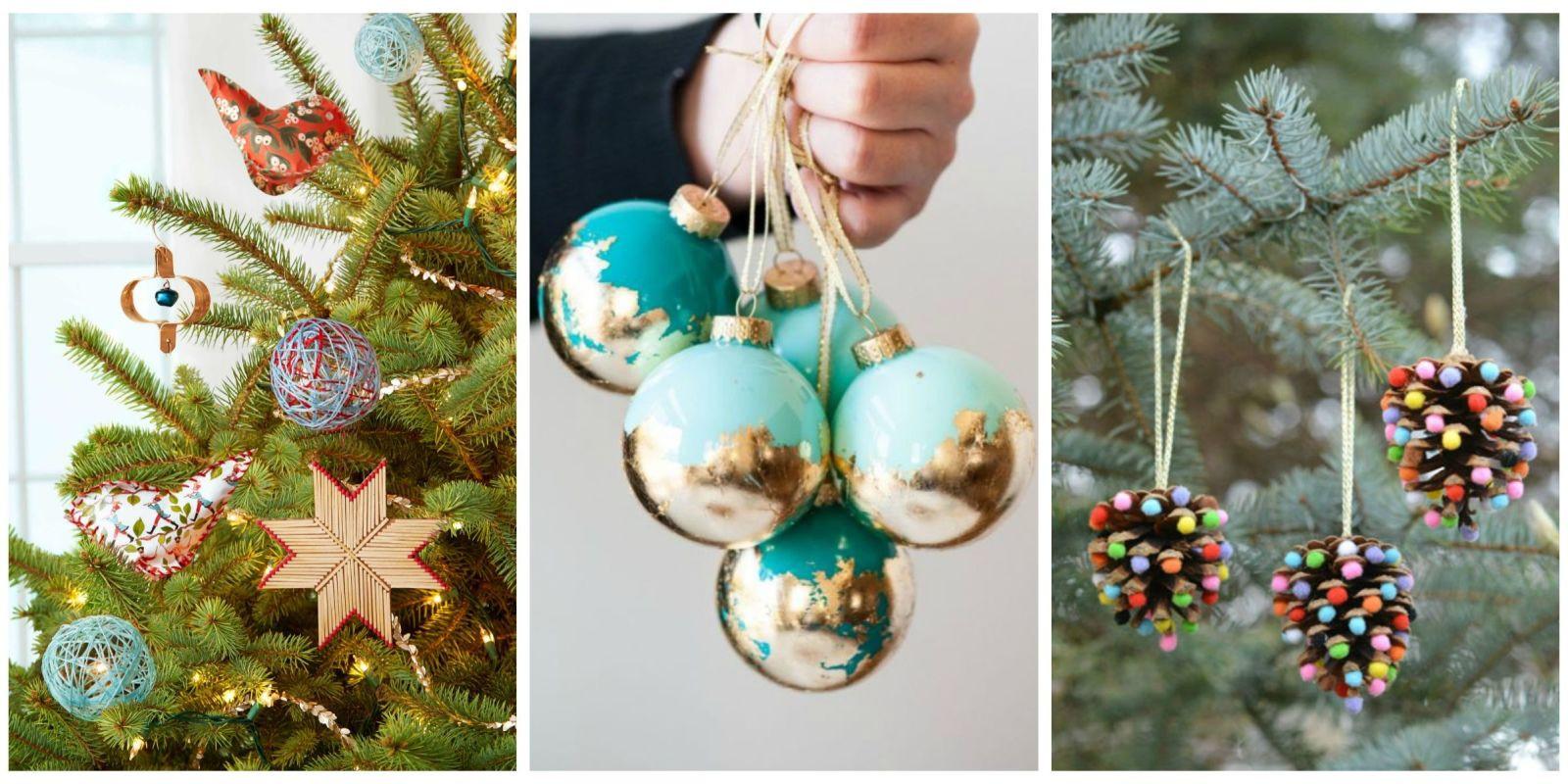 Christmas Homemade Craft  32 Homemade DIY Christmas Ornament Craft Ideas How To