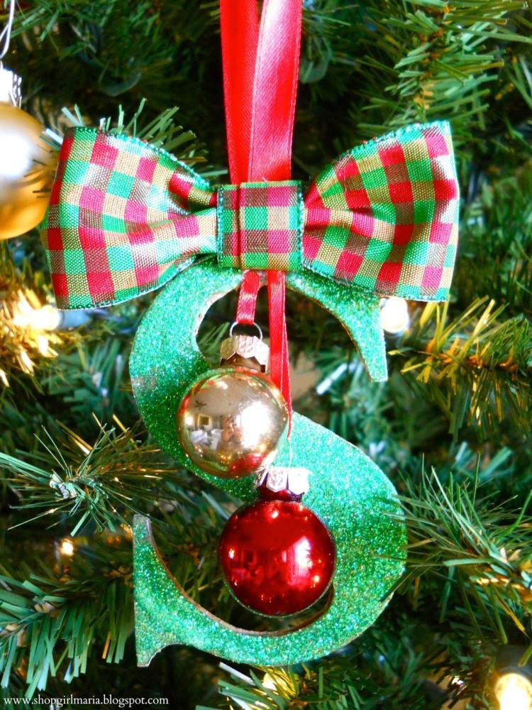 Christmas Homemade Craft  Homemade Christmas Ornaments 15 DIY Projects