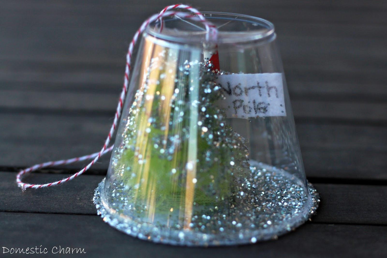 Christmas Homemade Craft  Preschool Crafts for Kids Christmas Ornament Cup Craft