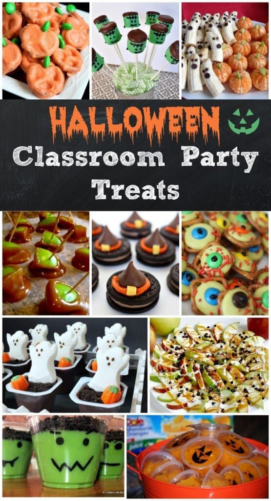 Classroom Halloween Party Ideas  Easy Halloween Treats for Your Classroom Parties