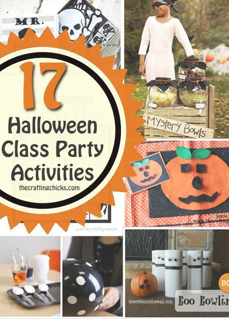 Classroom Halloween Party Ideas  25 best ideas about Halloween Class Party on Pinterest