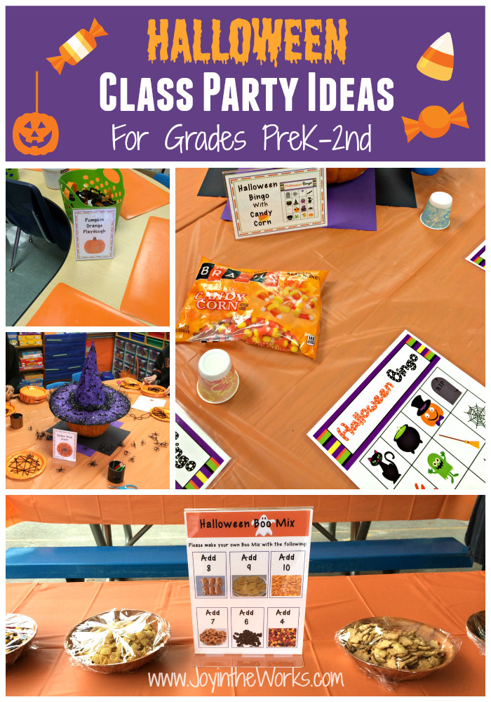 Classroom Halloween Party Ideas  Halloween Class Party Ideas Grades PreK 2nd Joy in the Works
