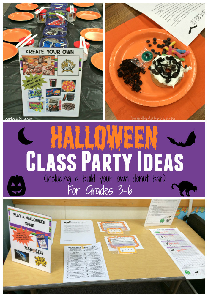 Classroom Halloween Party Ideas  Halloween Class Party Ideas for Grades 3 6 Joy in the Works