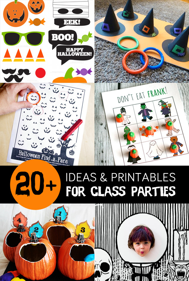Classroom Halloween Party Ideas  1000 images about Halloween BOOOO on Pinterest
