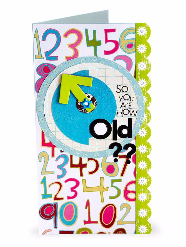 Clever Birthday Gifts  30 Creative Ideas for Handmade Birthday Cards