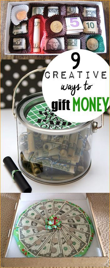 Clever Birthday Gifts  Creative Ways to Gift Money