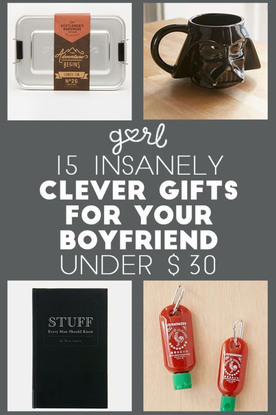 Clever Birthday Gifts  15 Insanely Clever Gift Ideas For Your Boyfriend All Under