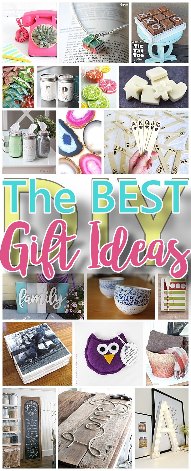 Clever Birthday Gifts  The BEST Do it Yourself Gifts – Fun Clever and Unique DIY