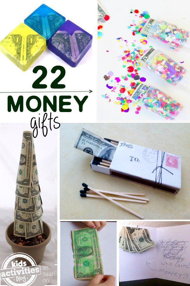 Clever Birthday Gifts  Best 25 Creative money ts ideas on Pinterest
