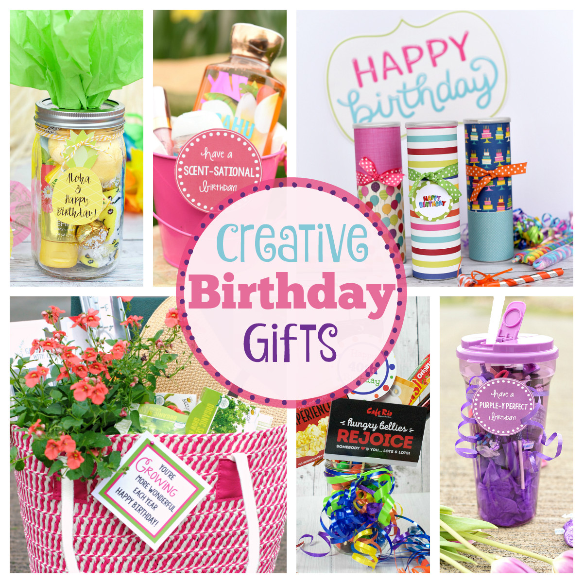 Clever Birthday Gifts  25 Fun Birthday Gifts Ideas for Friends Crazy Little