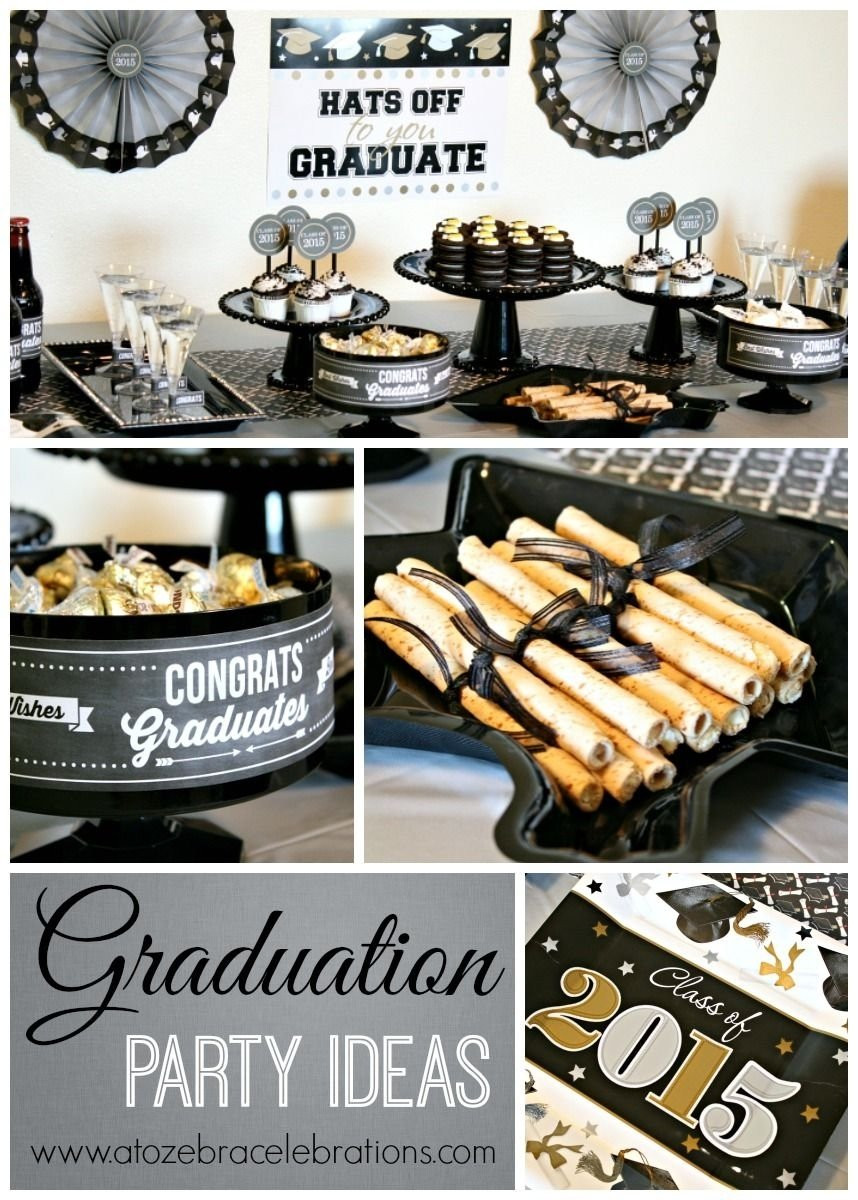 College Graduation Party Ideas For Adults  10 Pretty College Graduation Party Ideas For Adults 2019