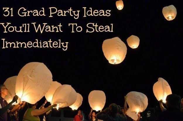 College Graduation Party Ideas For Adults  31 Grad Party Ideas You ll Want To Steal Immediately