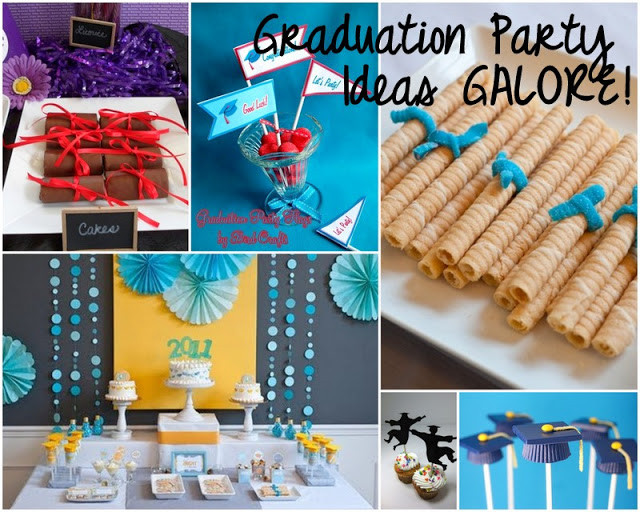 College Graduation Party Ideas For Adults  Graduation Party time tons of ideas here Fun
