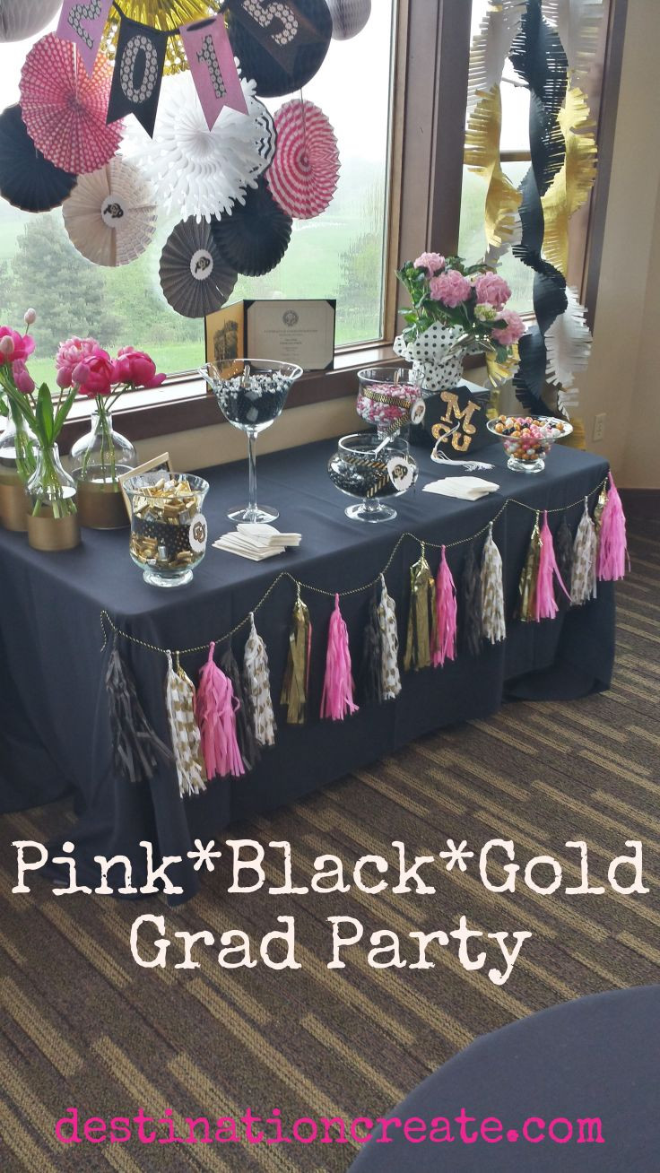 College Graduation Party Ideas For Adults  Top 25 ideas about Pink Graduation Party on Pinterest