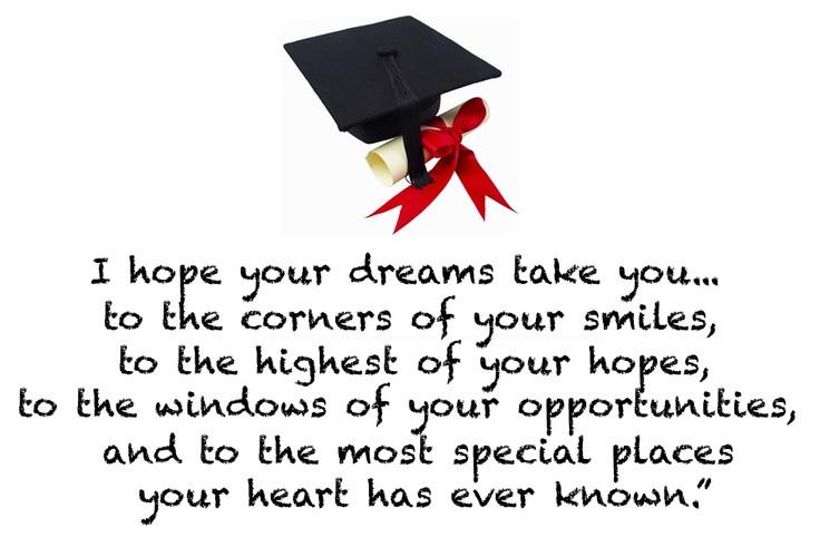 College Graduation Quote  Inspirational & Funny High School Graduation Quotes