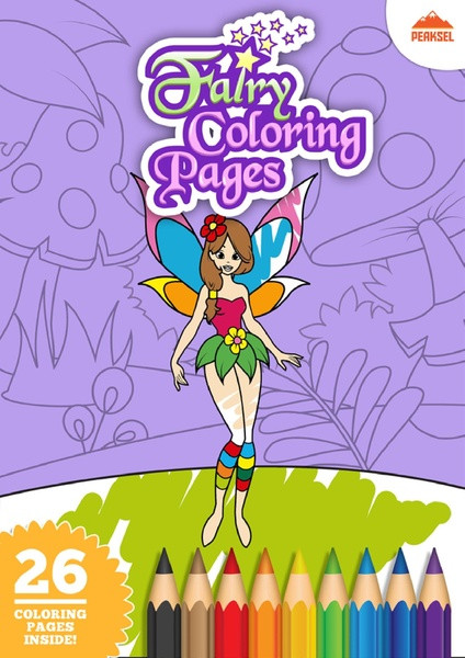 Coloring Book For Kids Pdf  File Fairy Coloring Pages – Printable Coloring Book For
