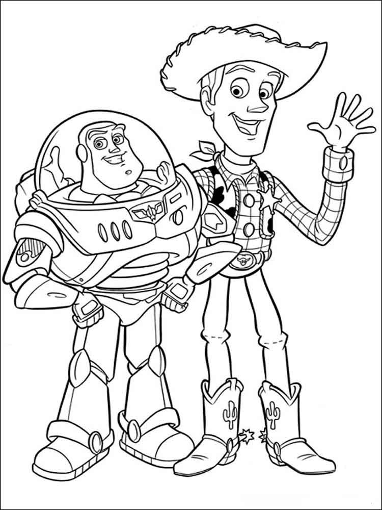 Coloring Pages Disney Boys  Free printable Toy story coloring pages