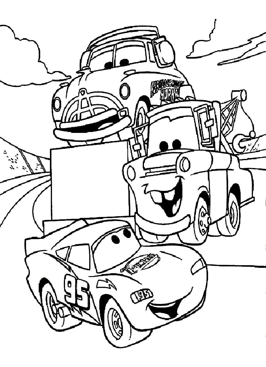 Coloring Pages Disney Boys  disney cars coloring pages Free