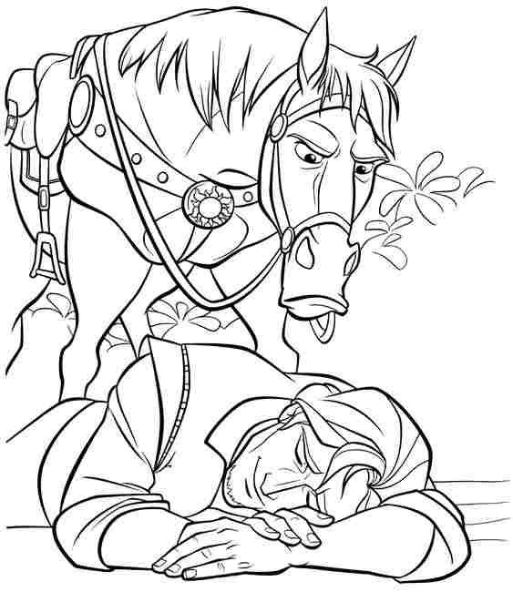 Coloring Pages Disney Boys  free printable coloring sheets disney princess tangled