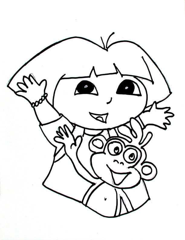 Coloring Pages For Toddler  Free Printable Coloring Pages For Toddlers AZ Coloring Pages