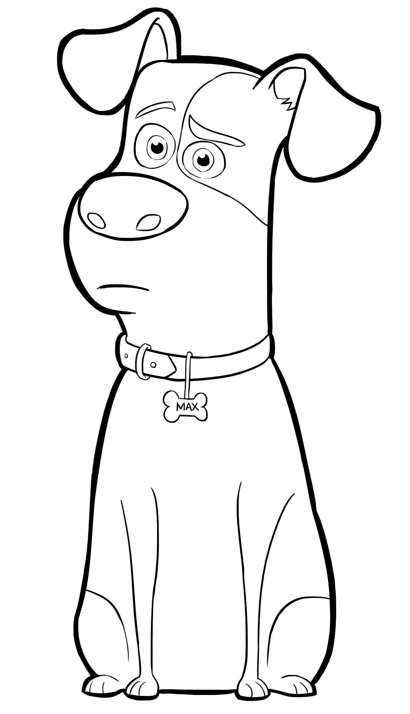 Coloring Pages For Toddler  Pets Coloring Pages Best Coloring Pages For Kids