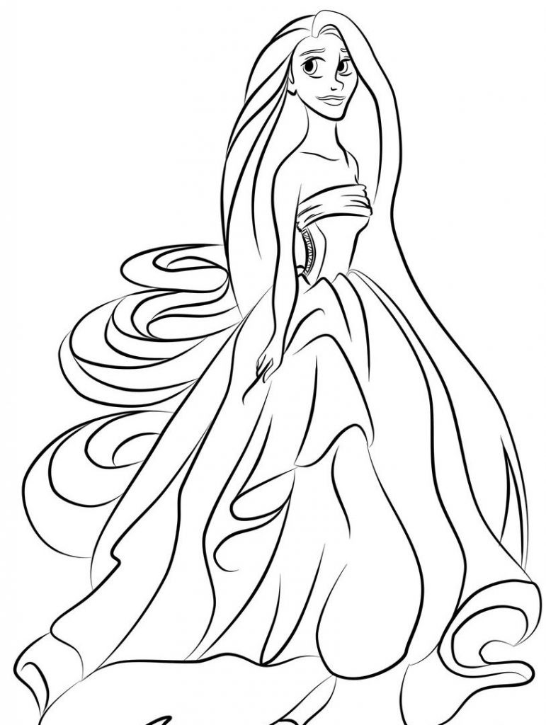 Coloring Pages For Toddler  Princess Coloring Pages Best Coloring Pages For Kids