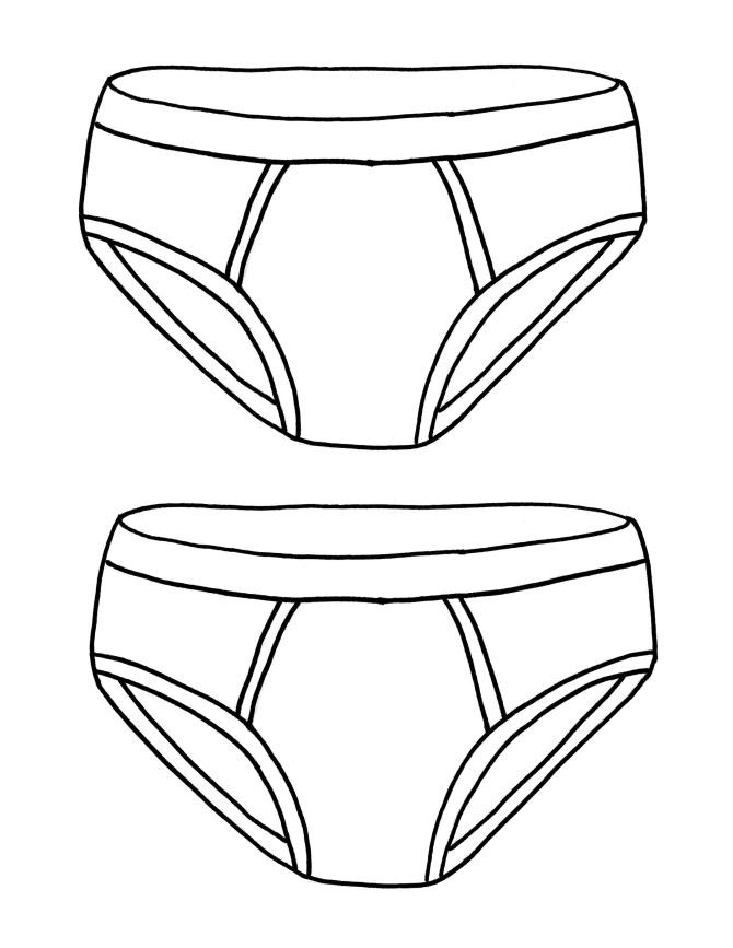 Coloring Pages Of Underware For Toddlers  Kids Programming–Captain Underpants Party