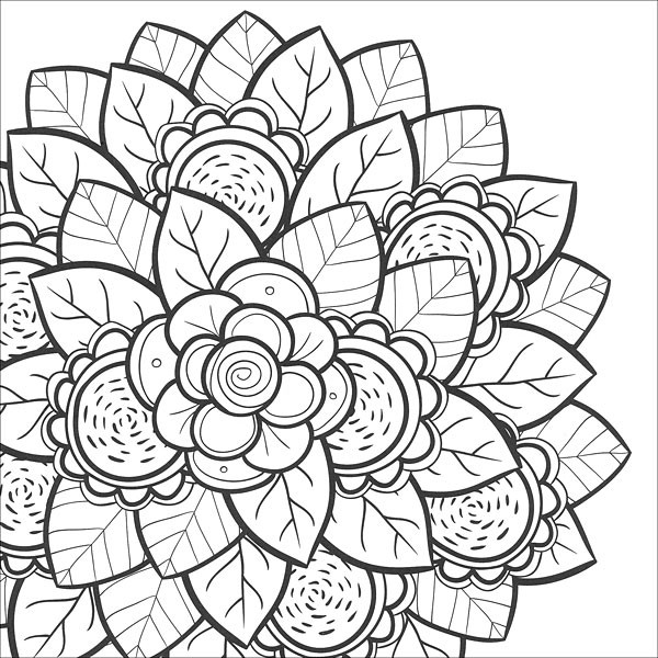 Coloring Sheets For Teenage Girls  Coloring Pages for Teens Best Coloring Pages For Kids