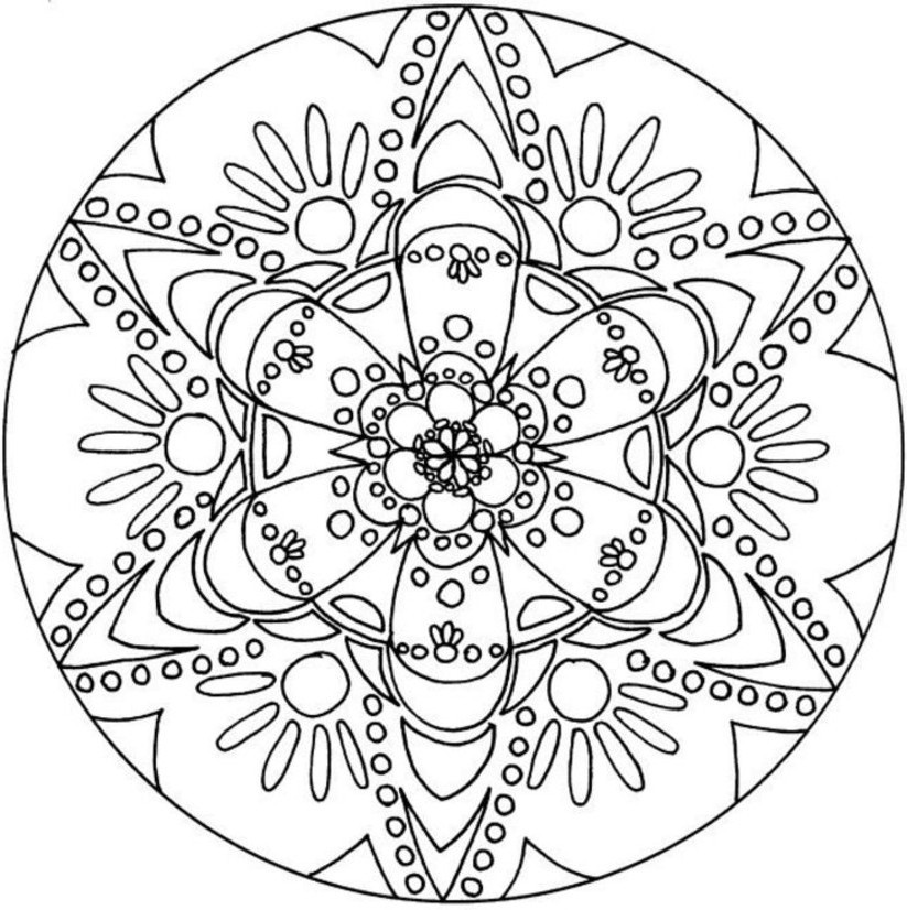 Coloring Sheets For Teenage Girls  Creatively Content Quick fun t idea plus kaleidoscope